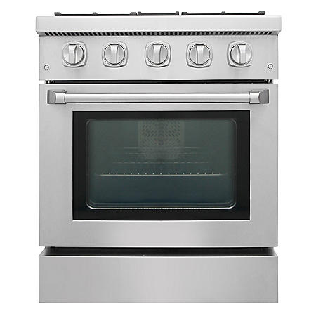 "Thor Kitchen Premium Series 30"" Freestanding Dual Fuel Range With Convection"