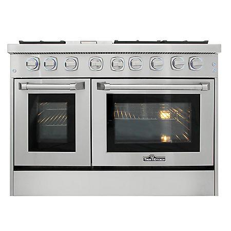 "Thor Kitchen Premium Series 48"" Freestanding Dual Fuel Range With Convection"