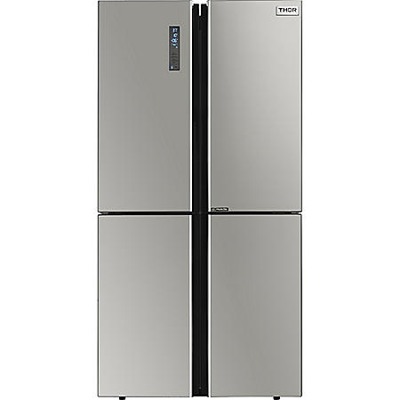 "Thor Kitchen 22.6 cu. ft. 36"" Counter Depth French Door Refrigerator in Stainless Steel"