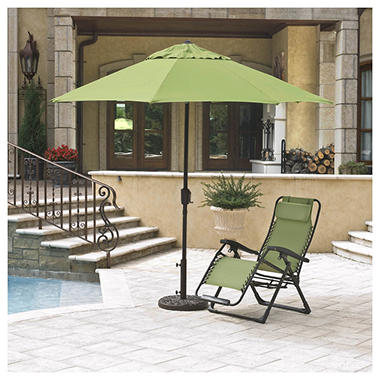 10' Market Umbrella - Green