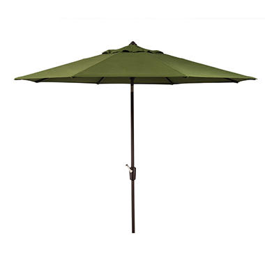 Member's Mark 10' Green Market Umbrella with Premium Sunbrella Fabric