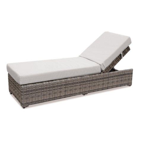 Cedar Grove Chaise Lounge with Premium Sunbrella Fabric, Assorted Colors