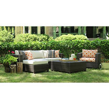 Biscayne 5-Piece Deep Seating with Sunbrella Fabric