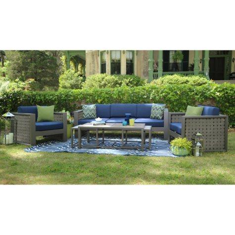 Midtown 6-Piece Deep Seating Set with Premium Sunbrella® Fabric