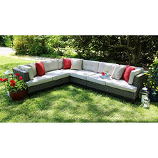 Camilla 4-Piece Sectional with Sunbrella Fabric