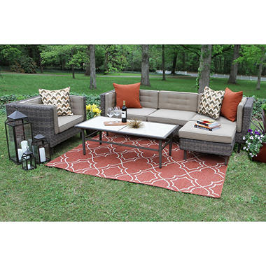 Cooper 5-Piece Deep Seating with Sunbrella Fabric