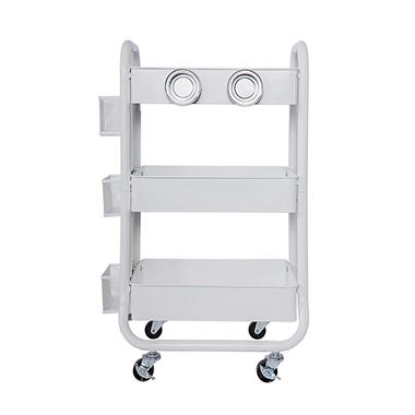 Member's Mark 3 Tier Rolling Utility Storage Cart, Select Colors