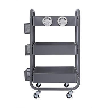 OFFLINE   Memberu0027s Mark 3 Tier Rolling Utility Storage Cart, Select Colors