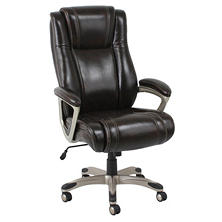 Barcalounger Big & Tall Executive Chair, Brown (Supports up to 350 lbs.)
