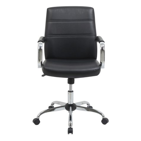 Barcalounger Task Chair, Black (Supports up to 250 lbs.)