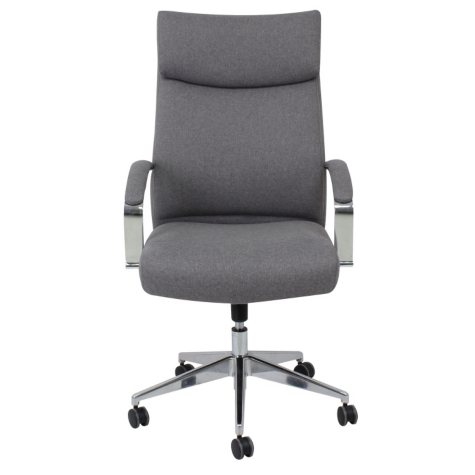 Barcalounger Executive Chair, Gray (Supports up to 350 lbs.)