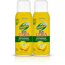 OdoBan Real Citrus Air Freshener, Lemon Scent (10oz., 2pk.)