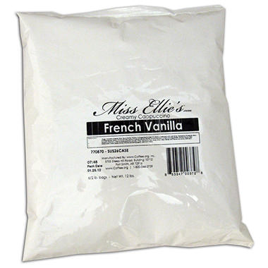 Miss Ellie's Creamy Cappuccino, Choose Flavor (2 lb. bag, 6 ct.)