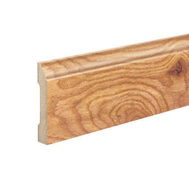 SimpleSolutions™ Wallbase Molding - Roasted Maple; 94.50