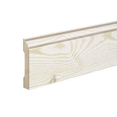 SimpleSolutions Wallbase Molding - White Pine; 94.50