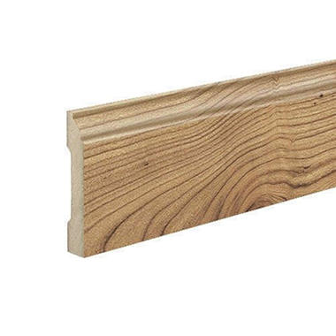 SimpleSolutions™ Wallbase Molding - Natural Fruitwood / Seasoned Cherry; 94.50