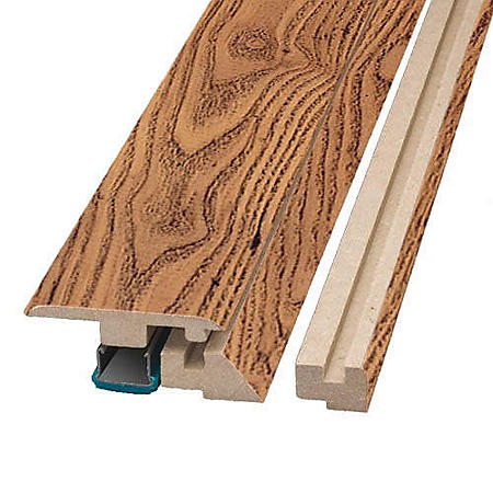 """Simple Solutions™ Four-in-One Molding - Russet Oak - 78.75"""" Long"""
