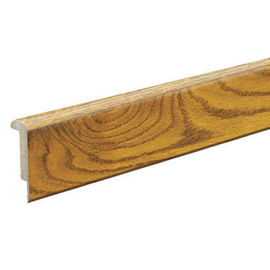 Stair Nose Molding   Amber Oak