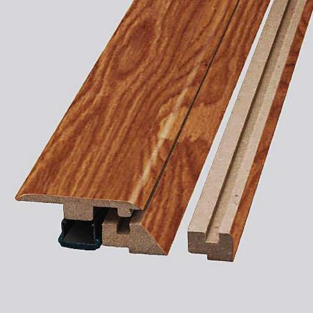SimpleSolutions™ Four-in-One Molding - Heirloom Oak; 78.75 In. Long