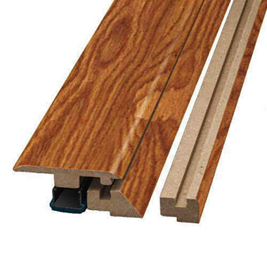 SimpleSolutions™ Four-in-One Molding - Roasted Maple; 78.75 In. Long