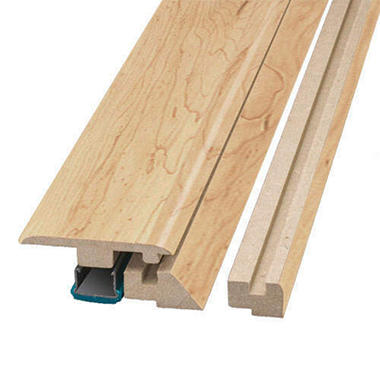 Simple Solutions™ Four-in-One Molding - Monterey Maple - 78.75