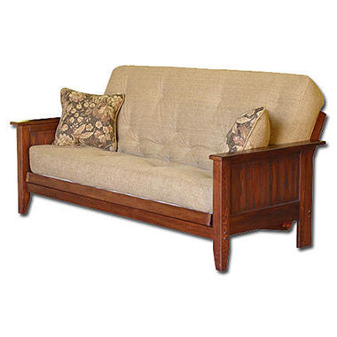 Simmons Manchester Sofa Sleeper Futon