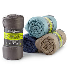 Eddie Bauer 700-Fill Power Down Throw (Assorted Colors)