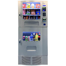 Seaga Compact Combination Vending Machine with Credit Card Reader  (Silver)