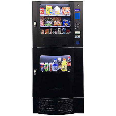 Seaga Compact Combination Vending Machine (Choose Your Color)
