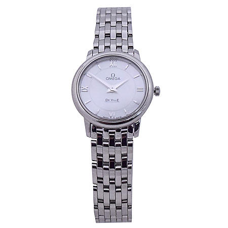 Omega De Ville Mother of Pearl Stainless Steel Watch