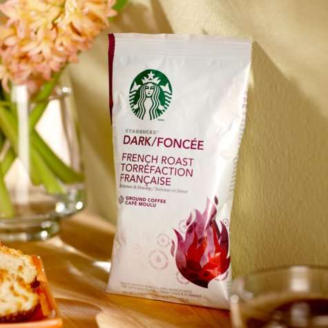 Starbucks Coffee, French Roast, Portion Packs (2.5 oz., 18 ct.)