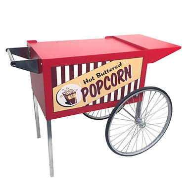 Vintage Pop Large Popcorn Cart