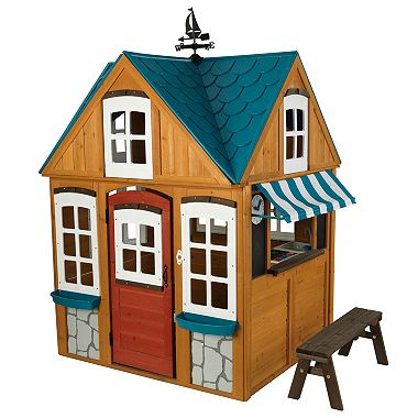 Seaside Cottage Outdoor Playhouse Sams Club