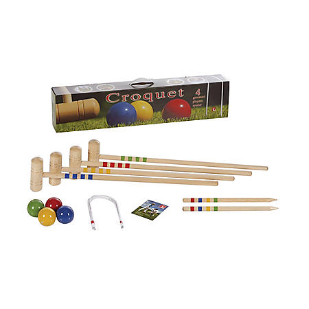 Londero 4-Player Croquet Set