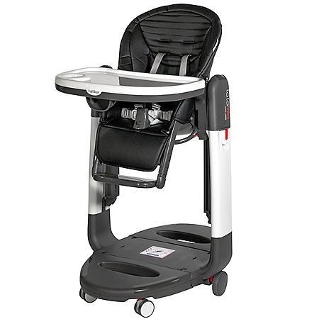 Peg Perego Tatamia High Chair, Stripes Black