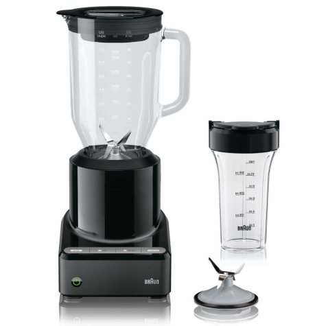Braun PureMix Jug Blender with Smoothie To-Go Cup