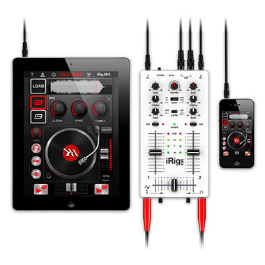 iRig Mix Appcessory - White