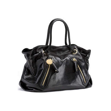 Furla Carmen Large Zipper Leather Handbag