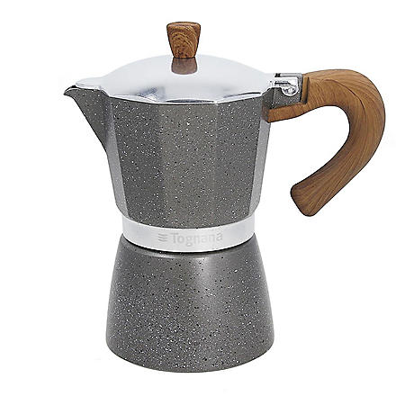 Widgeteer Stone and Wood Style Coffee Maker by Tognana (Assorted Sizes)