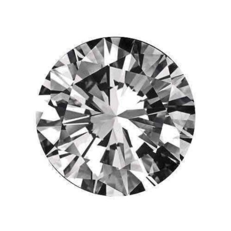 0.26 ct. Round-Cut Loose Diamond (H, IF)