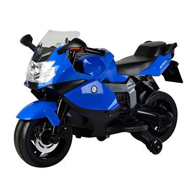 bmw licensed 12v battery powered motorcycle kids ride on. Black Bedroom Furniture Sets. Home Design Ideas