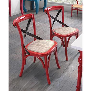 Baby Larkin Chair 2pk   Red
