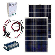 Grape Solar 200-Watt Off-Grid Solar Panel Kit