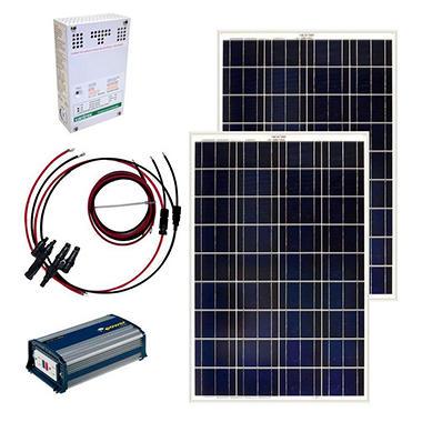 Grape Solar 200 Watt Off Grid Solar Panel Kit Sam S Club