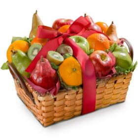 Harvest Gold Fruit Basket