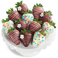 Assorted Chocolate Covered Strawberries (12 piece)