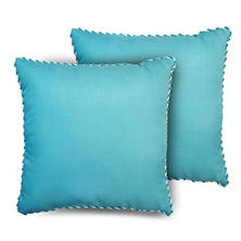 "24"" Toss Pillows in Assorted Fabrics, 2 Pack"