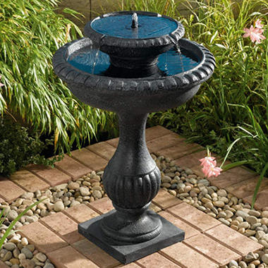 Blenheim 2-Tier Solar Fountain