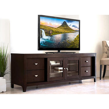 belmont 72 tv stand media console sam 39 s club. Black Bedroom Furniture Sets. Home Design Ideas