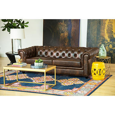 Natali Top Grain Leather Sofa